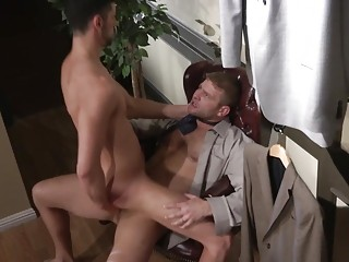 Colby Jansen uses his fat dick on Jake Steel