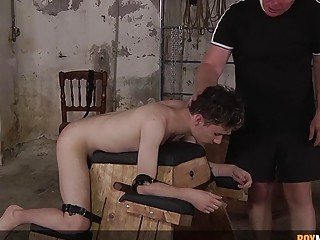 Domination and anal sex with young twink