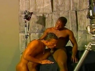 muscular black dudes in scenes of hardcore Chocolate anal