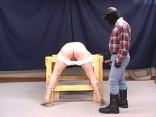 Daddy whips his boy before hardcore BDSM fucking