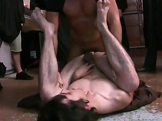 Young frat fuck is banged in every position