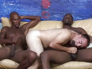White fucker dreams about choking on black cock