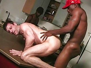 Black dudes find a nice, white ass to pound