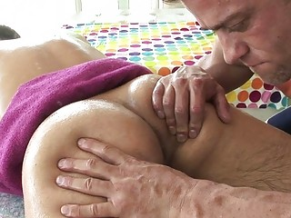 Massage leads gay lovers to insane ass fucking sex scenes