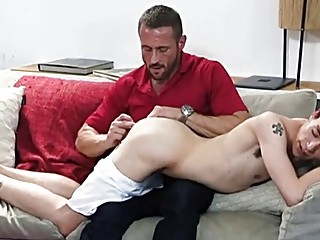 Gay son takes daddies cock to earn an allowance