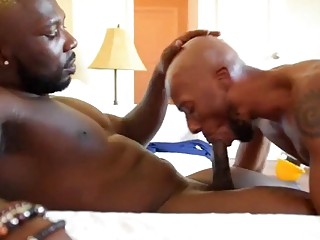 Ass riming gay black guys get freaky after work