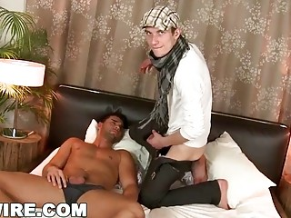 Caleb Moreton and Timi Taylor interrupt a nap for sex