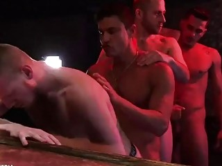Compilation of the rawest, dirtiest gay group sex
