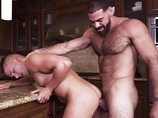 Ricky Larkin and Jake Porter make a meal of one another