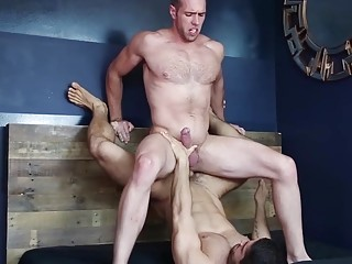 Dick riding and anus screwing with Diego Sans and Alex Mecum