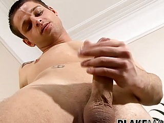 Cute UK amateur is eager to show his hard cock and stroke it