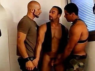 Piss and banging for big buff jock crew